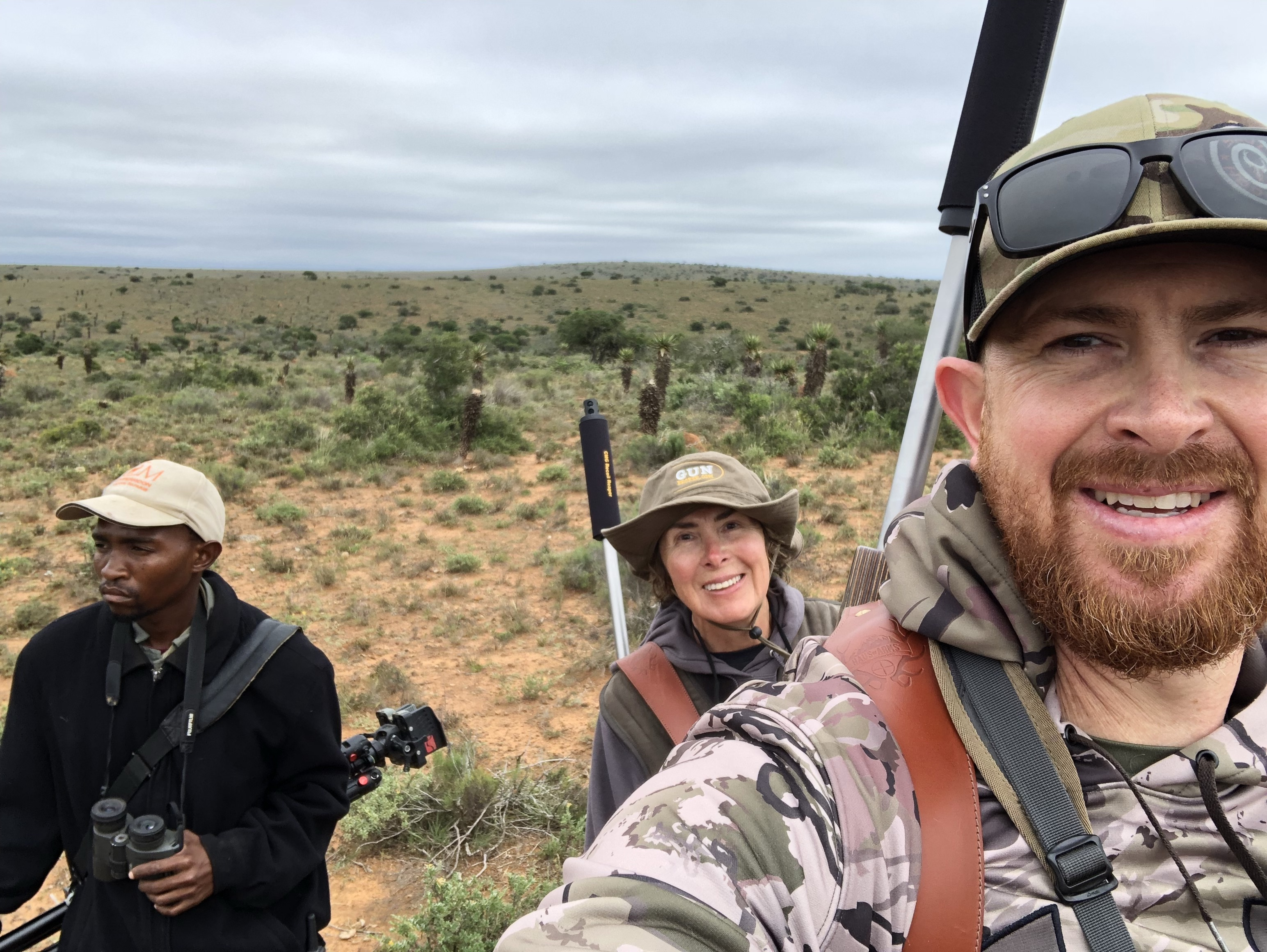 Eric's Africa Annotations - Hunting with Mom