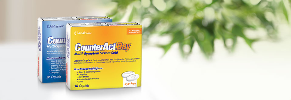 CounterAct® Cold Relief Pack