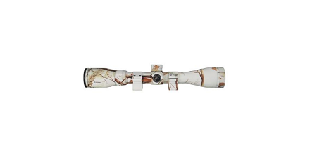 Thompson Center AP Snow Camo 3-12x40mm Predator Rifle Scope With Rings