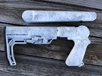 T/C G1 Contender and SSK-50 UPGRADED Telescopic Rifle Stockset In Kryptek YETI-AWESOME!