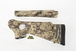Custom Thompson Center ProHunter RH Thumbhole Rifle Stocksets in Kryptek Highlander Camo