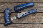 REVOLUTION G2 Contender PGE22 Ambidextrous Grip/2 Forend Grip Set in Electric Blue