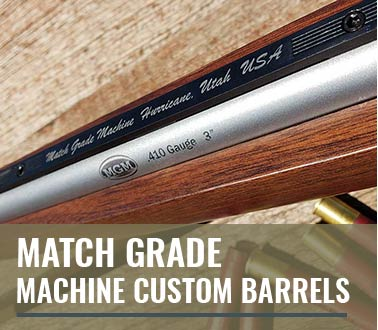 Match Grade Machine Custom Barrels