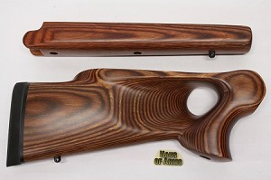 SALE! NEW Thompson Center Encore RB26A Buckskin Laminate RH Thumbhole 12GA Shotgun Stockset