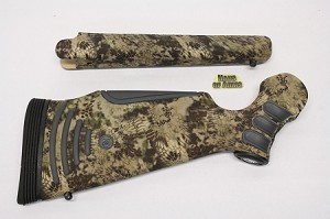 Custom Thompson Center KATAHDIN Stocksets in Kryptek Highlander Camo