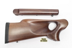 Thompson Center G2 Contender GW24 Solid Walnut RH Thumbhole Rifle Stocksets