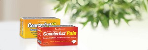 CounterAct® Pain Reliever 2-Pack