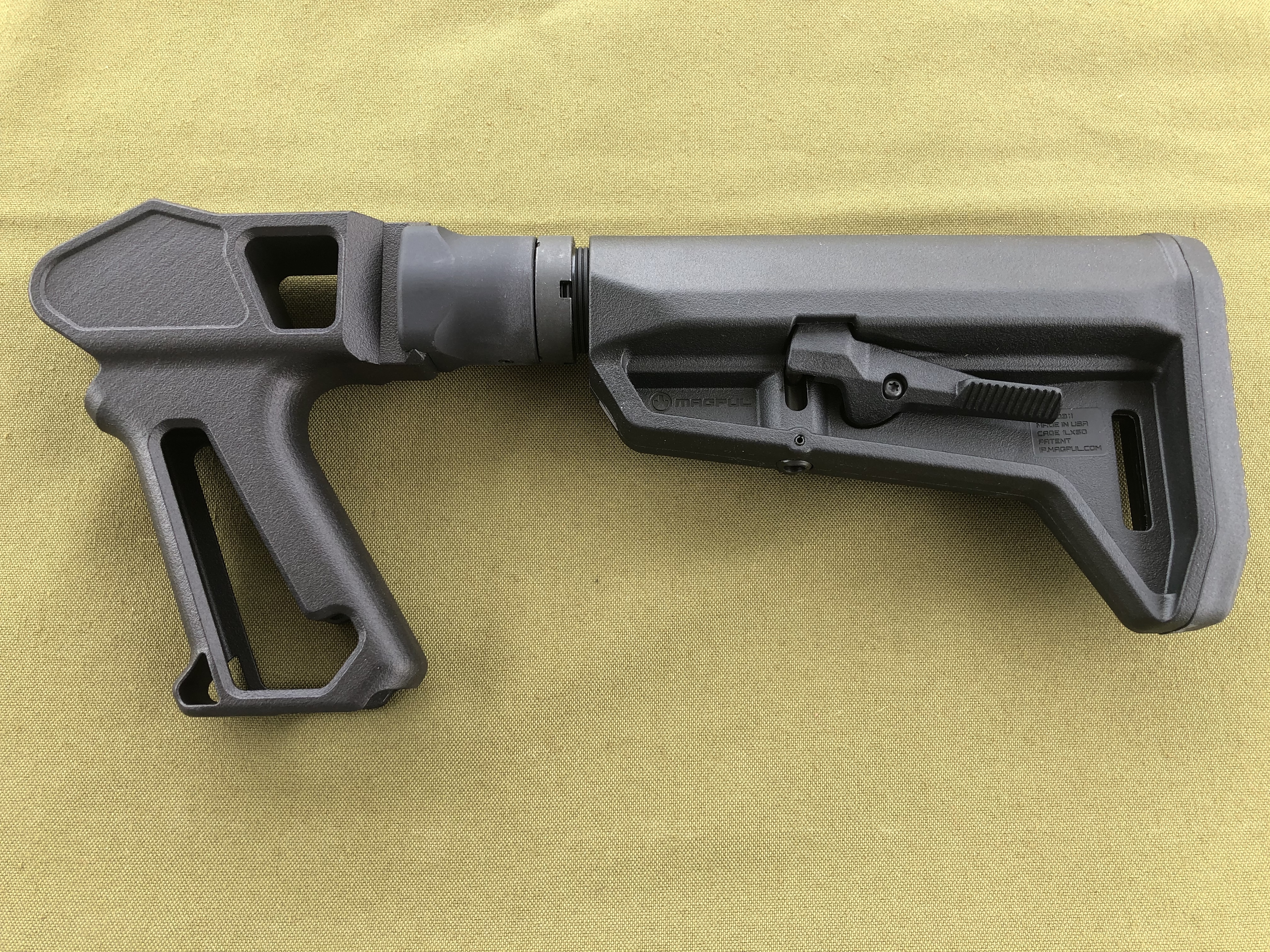 T/C G2 Contender Black SHARPS Grip/1913 Interface Adapter/Mil Spec Buffer Tube/Castle Nut/MAGPUL KIT